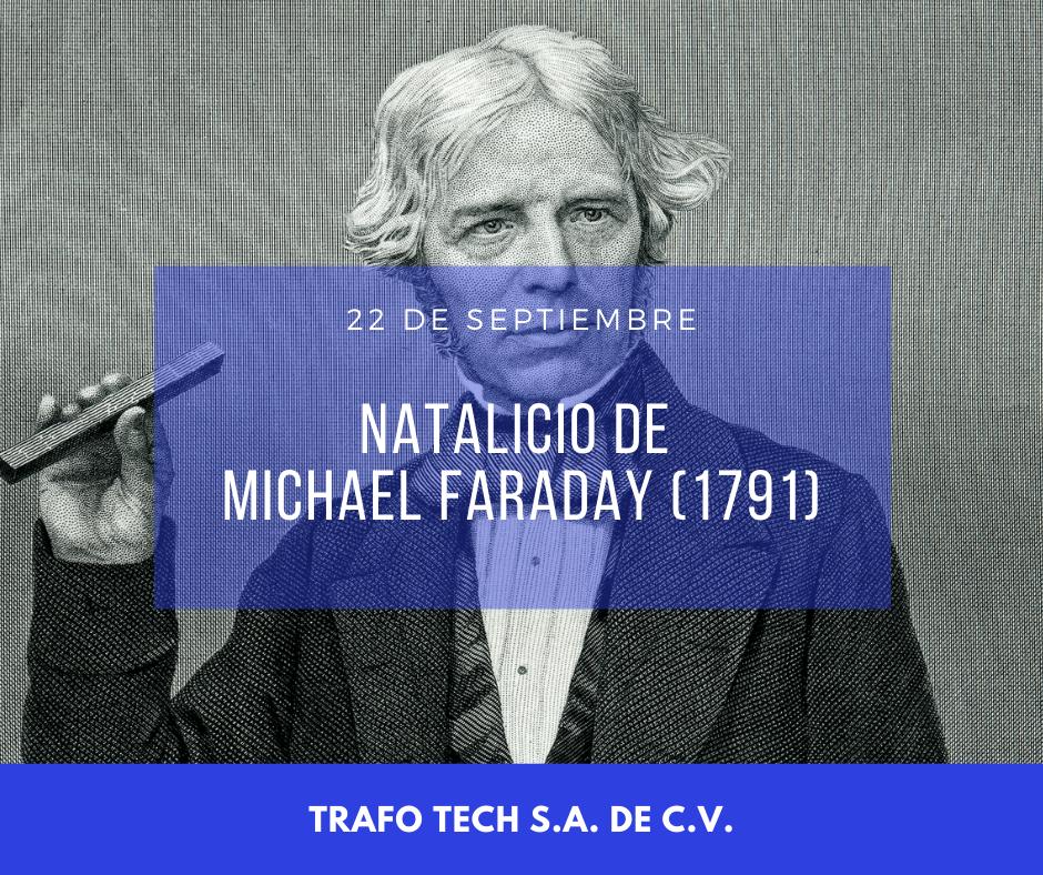 Natalicio de Michael Faraday